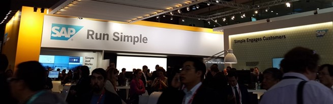SAP Booth at MWC 2015