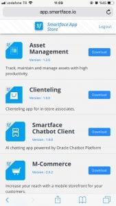 Smartface Enterprise App Store
